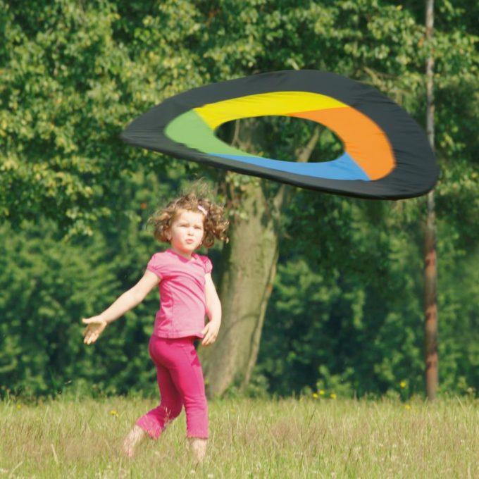Erzi Nylon-Flugring mit Tragetasche 2