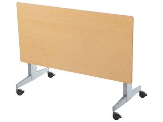 Klapptisch rechteckig 160x80 cm - mit beschichteter Platte - Höhe: 76 cm 8