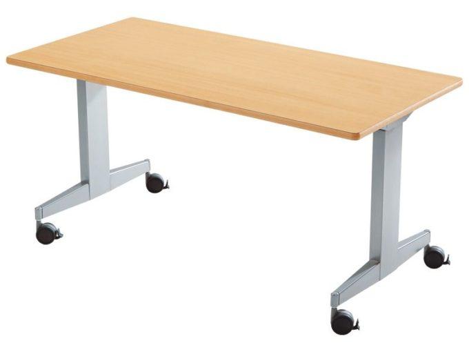 Klapptisch rechteckig 160x80 cm - mit beschichteter Platte - Höhe: 76 cm 5