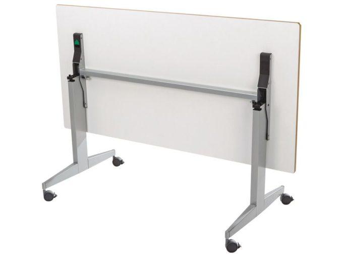 Klapptisch rechteckig 160x80 cm - mit beschichteter Platte - Höhe: 76 cm 3