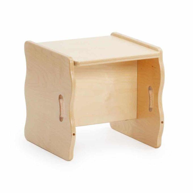 Multifunktionsstuhl - Hocker und Tisch 3
