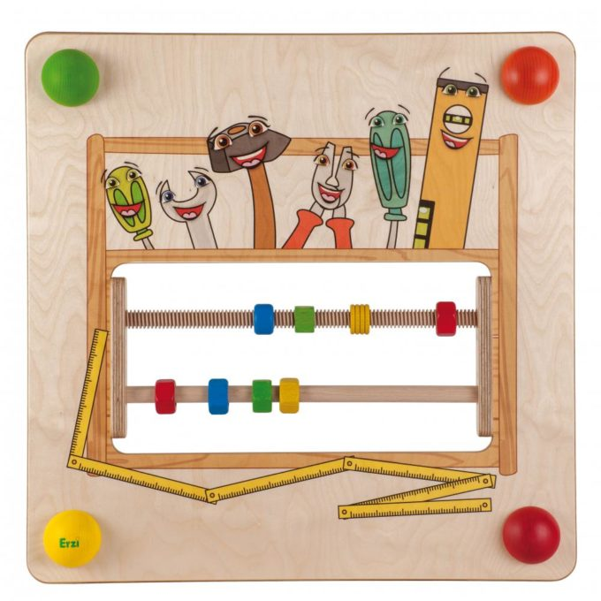 Erzi Babypfad Werkzeugkiste 1