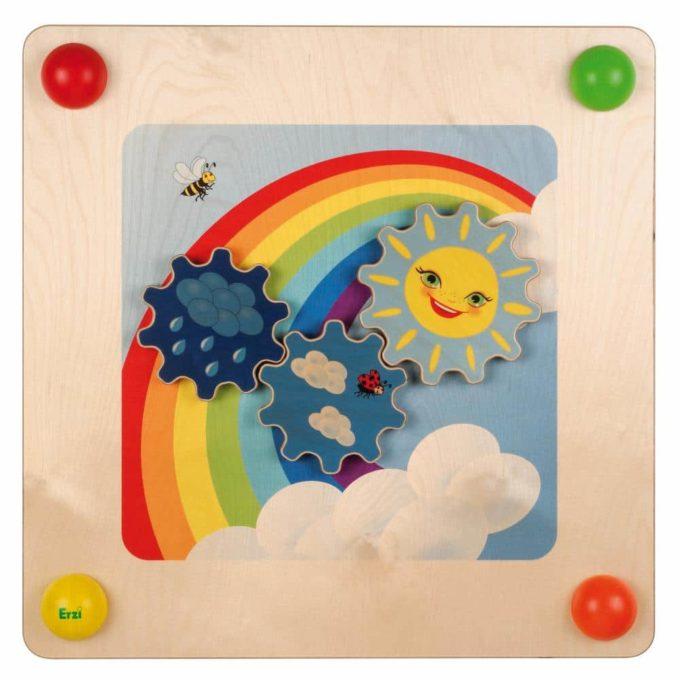 Erzi Babypfad Regenbogen 1