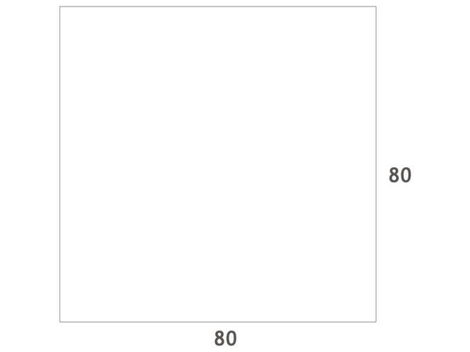 Verstellbarer Tisch quadratisch - mit dicker Platte 8