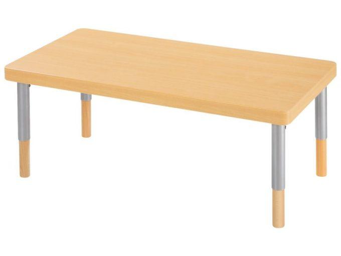 Verstellbarer Tisch rechteckig - mit dicker Platte 9