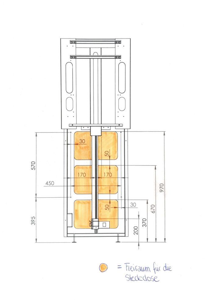 hiiwi Lift für timkid Wandwickeltische 7