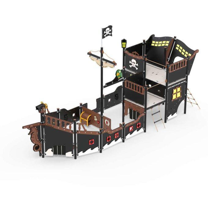 Großes Piratenschiff aus der Serie LEDON Pirates - in verschiedenen Ausführungen 2