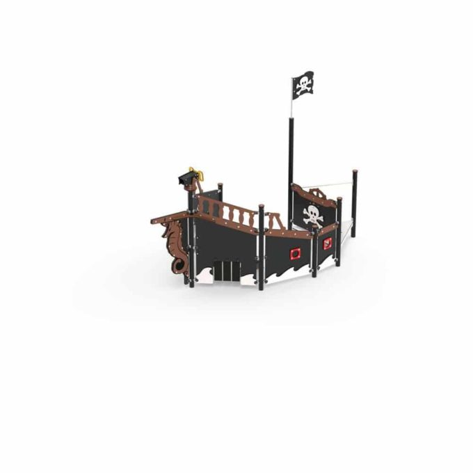 Piratenschiff Module aus der Serie LEDON Pirates 3