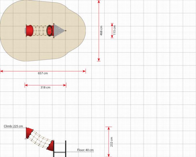 Hängebrücken Erweiterungsmodule für Piratenschiffe aus der Serie LEDON Pirates 11
