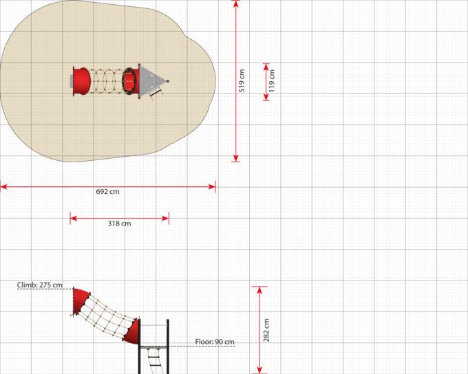 Hängebrücken Erweiterungsmodule für Piratenschiffe aus der Serie LEDON Pirates 13