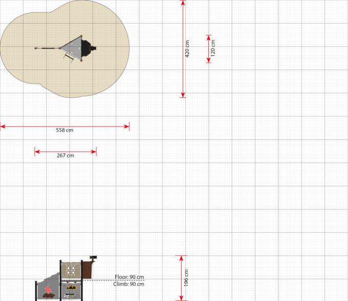 Spieltürme aus der Serie LEDON Pirates - in verschiedenen Ausführungen 9
