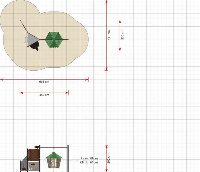Spieltürme aus der Serie LEDON Pirates - in verschiedenen Ausführungen 10