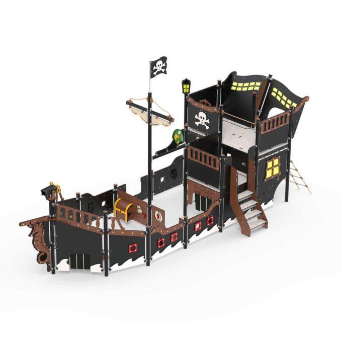 Großes Piratenschiff aus der Serie LEDON Pirates - in verschiedenen Ausführungen 4