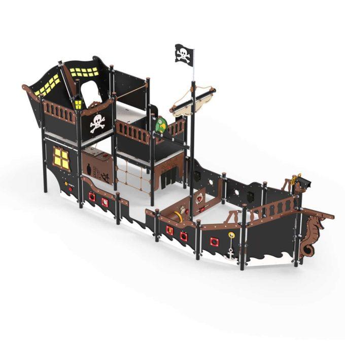 Großes Piratenschiff aus der Serie LEDON Pirates - in verschiedenen Ausführungen 5