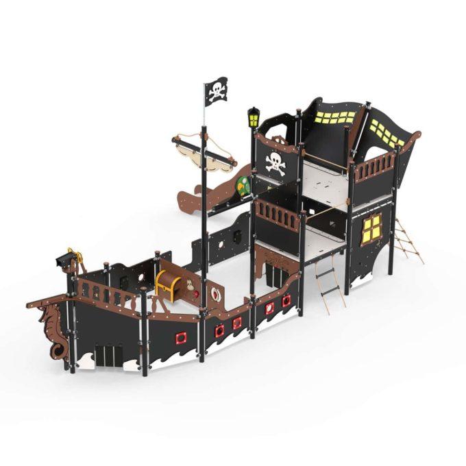 Großes Piratenschiff aus der Serie LEDON Pirates - in verschiedenen Ausführungen 6