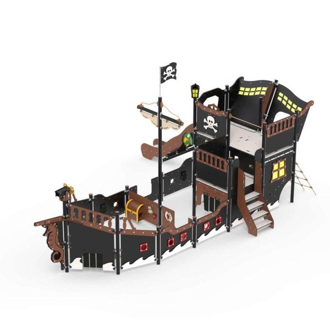 Großes Piratenschiff aus der Serie LEDON Pirates - in verschiedenen Ausführungen 8