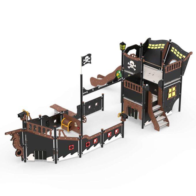 Großes Piratenschiff aus der Serie LEDON Pirates - in verschiedenen Ausführungen 12