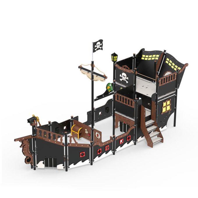 Großes Piratenschiff aus der Serie LEDON Pirates - in verschiedenen Ausführungen 14