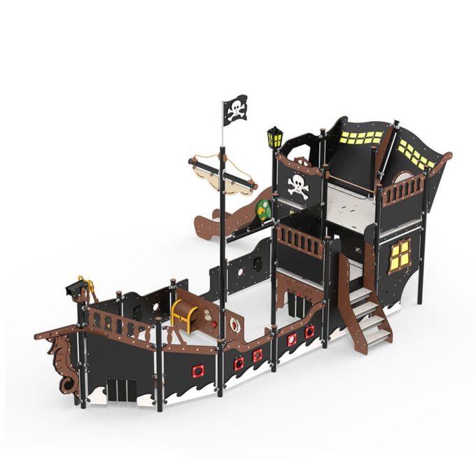 Großes Piratenschiff aus der Serie LEDON Pirates - in verschiedenen Ausführungen 15