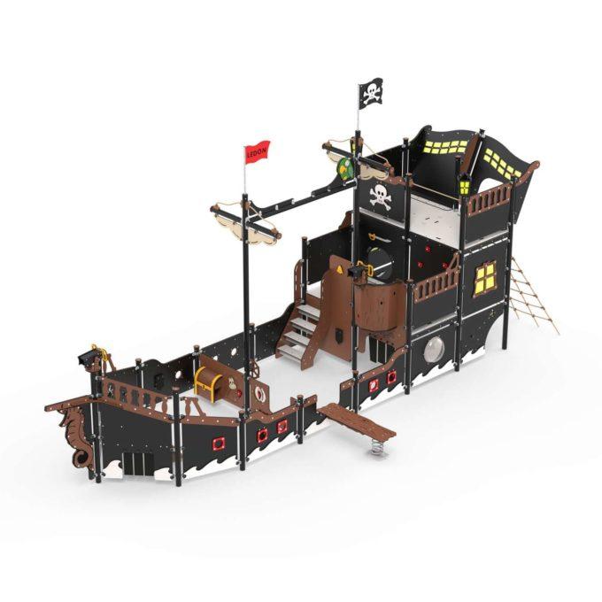 Riesiges Piratenschiff aus der Serie LEDON Pirates - in verschiedenen Ausführungen 2