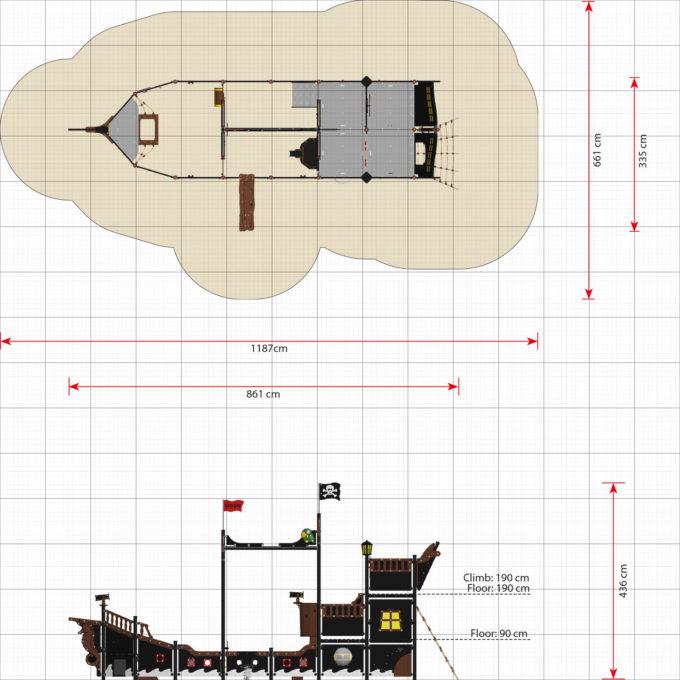 Riesiges Piratenschiff aus der Serie LEDON Pirates - in verschiedenen Ausführungen 31
