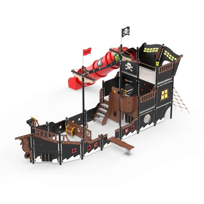 Riesiges Piratenschiff aus der Serie LEDON Pirates - in verschiedenen Ausführungen 6
