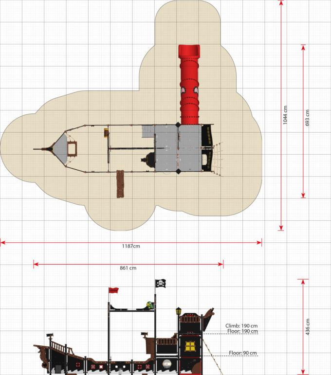 Riesiges Piratenschiff aus der Serie LEDON Pirates - in verschiedenen Ausführungen 33