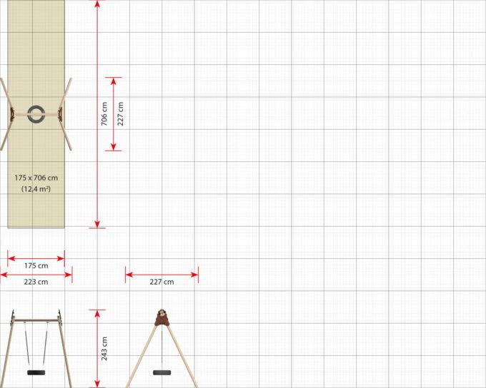 LEDON Reifenschaukel in verschiedenen Designs 17