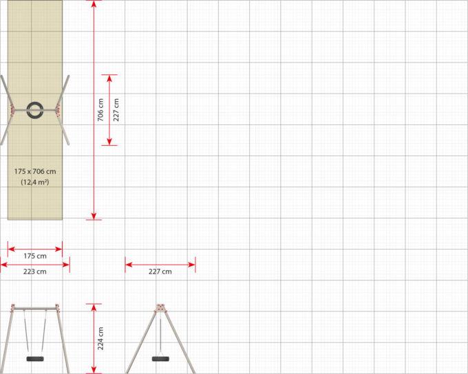 LEDON Reifenschaukel in verschiedenen Designs 16
