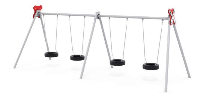 LEDON 4er Reifenschaukel in verschiedenen Designs 4