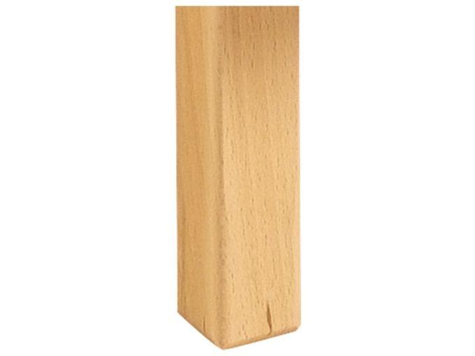 Tisch rechteckig 120x60 cm - mit Holzbeinen 2