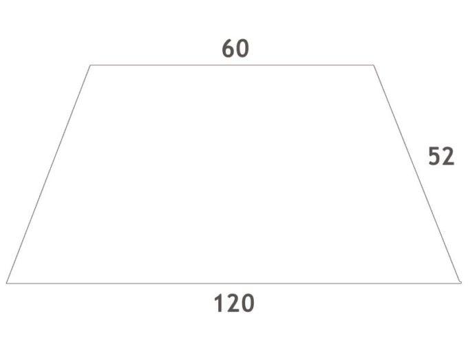 Tisch quadratisch 60x60 cm - aus 100% massiver Buche - Beine aus Holz 3