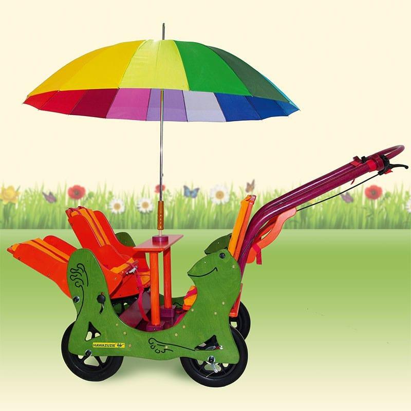 HAWAZUZIE Krippenwagen Frosch - 4-Sitzer (Komfort) 15