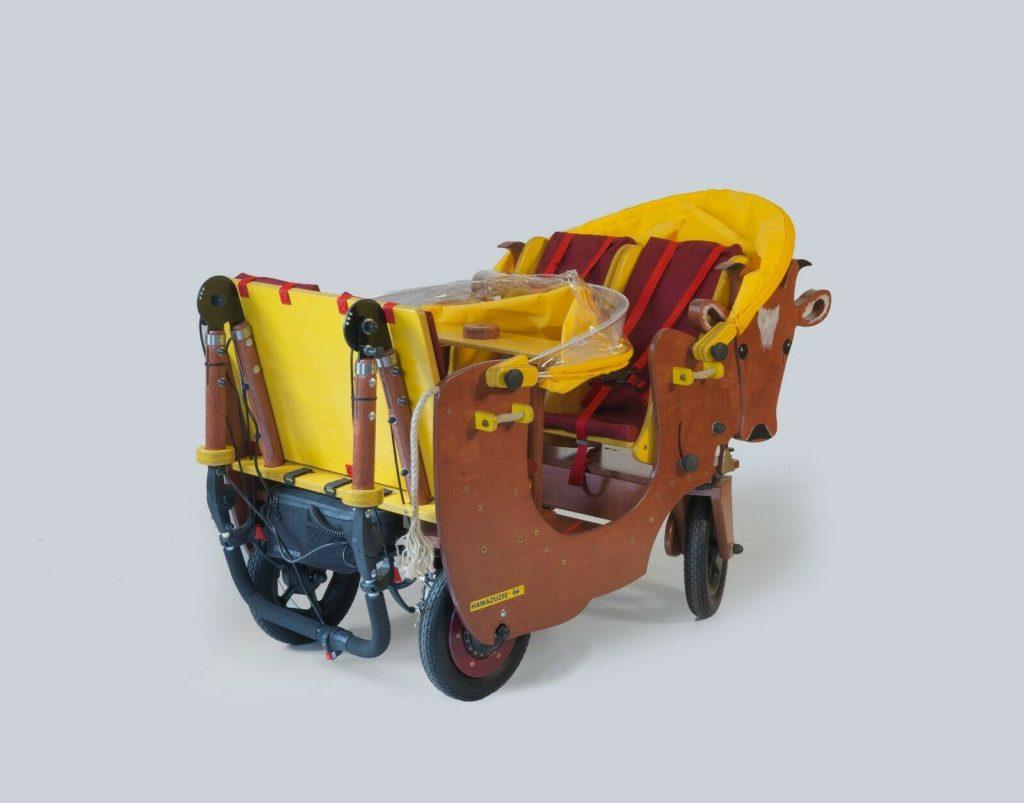HAWAZUZIE Krippenwagen mit Motor 4-Sitzer - Kuh Alma 17