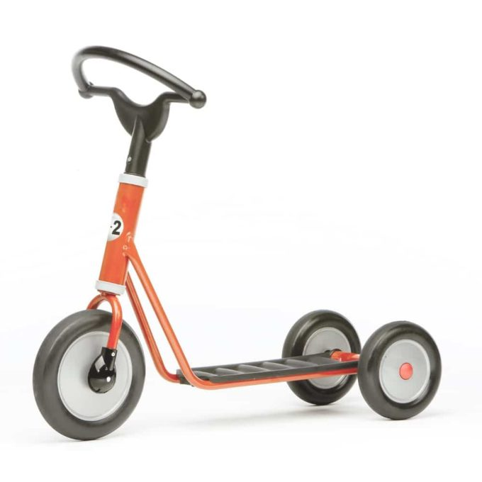 SommerMobil Mini Scooter Long Base Red - Mini Red Line 1