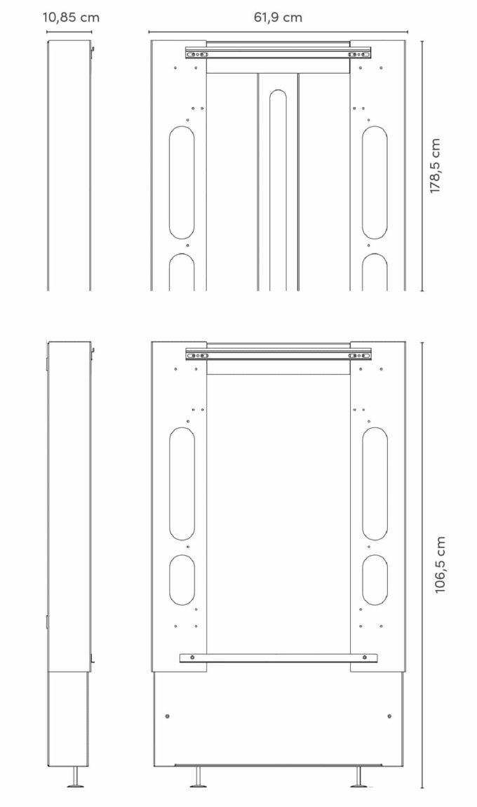 hiiwi Lift für timkid Wandwickeltische 6