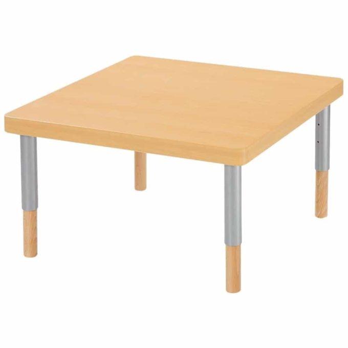 Verstellbarer Tisch quadratisch - mit dicker Platte 1