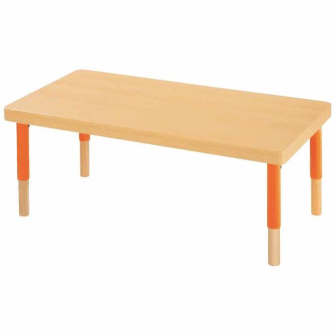Verstellbarer Tisch rechteckig - mit dicker Platte 1