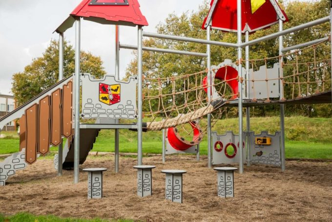 Riesige Spielanlage Tristan - LEDON Castle 5