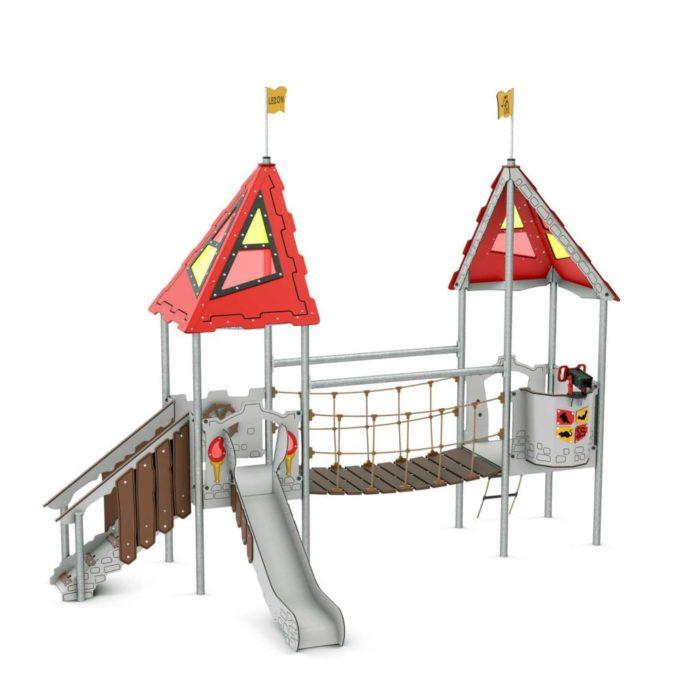 Kleine Spielanlage Lionel - LEDON Castle 1