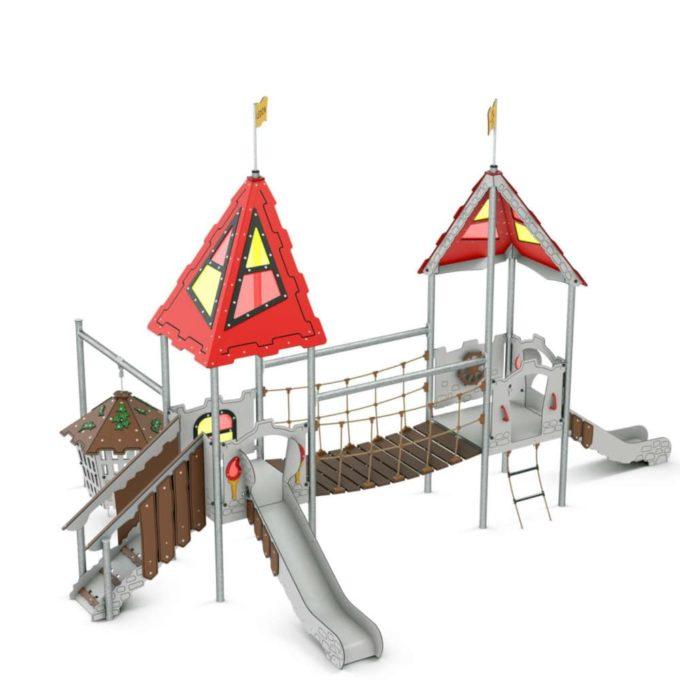 Kleine Spielanlage Uther - LEDON Castle 1