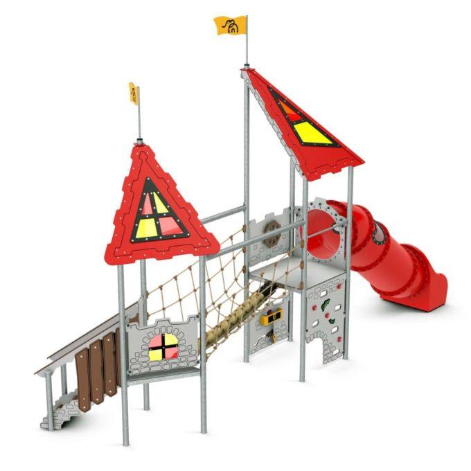 Kleine Spielanlage Dagonet - LEDON Castle 1