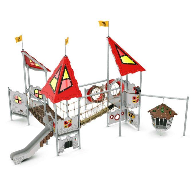 Große Spielanlage Pelleas - LEDON Castle 1