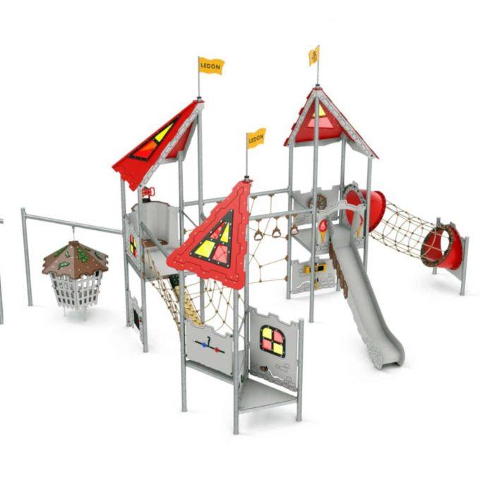 Große Spielanlage Merlin - LEDON Castle 1