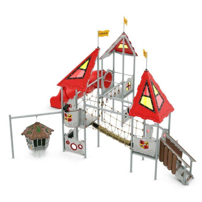 Große Spielanlage Nimueh - LEDON Castle 1