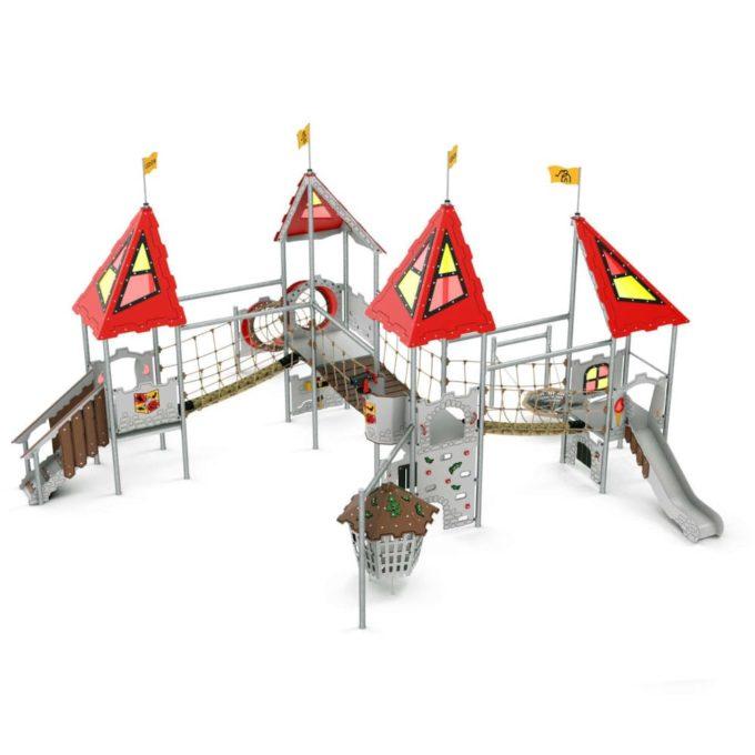 Riesige Spielanlage Tristan - LEDON Castle 1