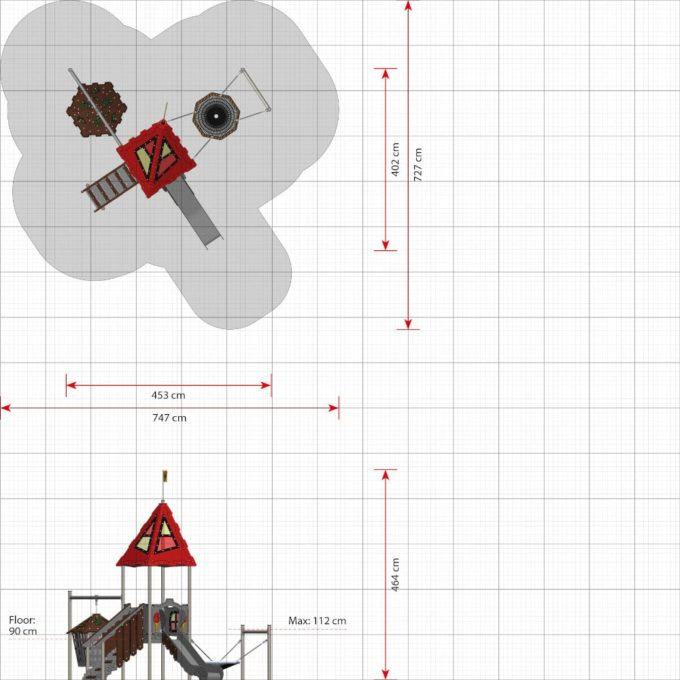 Spielturm Bodiam - LEDON Castle 2