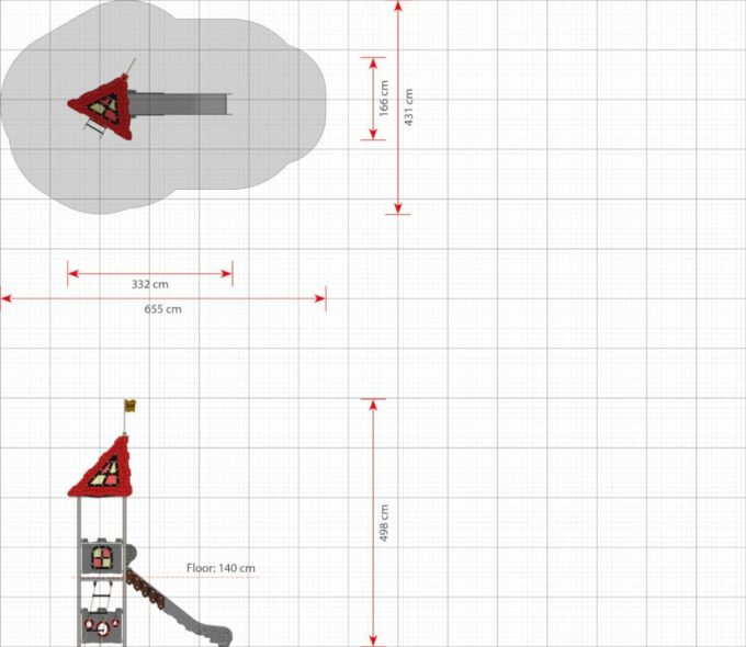Spielturm Robin - LEDON Castle 2