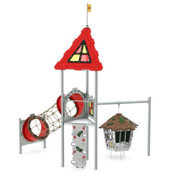 Spielturm George - LEDON Castle 1
