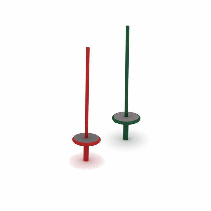 Kreisel Pirouette in zwei Farben - LEDON Originals 1